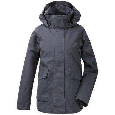 Куртка женская Didriksons UNN WNS JKT, 347 морская пыль, 503005  - купить со скидкой