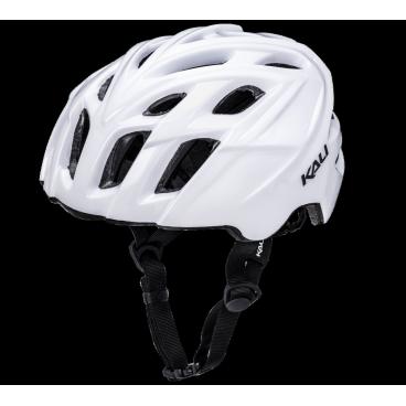 Шлем велосипедный KALI CHAKRA MONO ШОССЕ/ROAD, CF, 21 отверстие, 292гр, Wht  - купить со скидкой