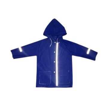 Дождевик детский Vinca Sport, со светоотражающими полосами, синий, 2019  - купить со скидкой