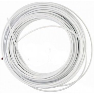 Рубашка троса тормоза, диаметр 5 мм, 50 метров, белый, цена за упаковку, 203-2 white (box)  - купить со скидкой