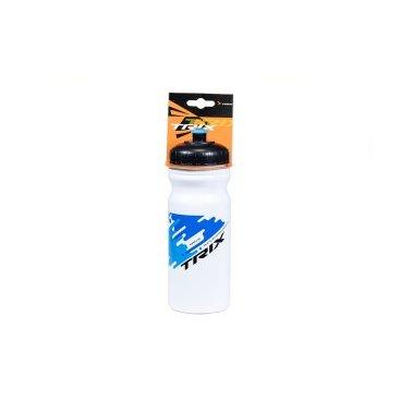 Фляга велосипедная TRIX, 680 мл, белый/синий, CSB-535 white/blue  - купить со скидкой