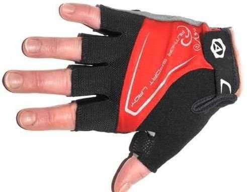 Перчатки 8-7130564 Lady Comfort Gel красн-черно-серые M с с петельками AUTHOR