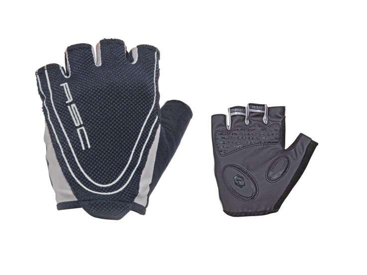 Перчатки 8-7130653 Men Race Pro черные р-р XL  с петельками AUTHOR