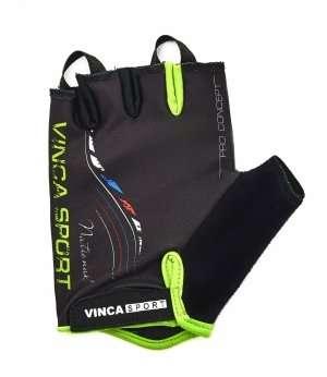 Перчатки велосипедные, NATIONAL, гелевые вставки, цвет черный, размер M VG 934 black national (M)
