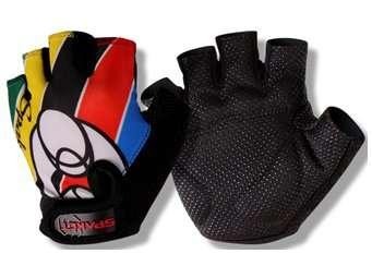 Перчатки TBS HP09, детские,  полиэстер, виниловая кожа, амортизирующие вставки, L, HP09(L)