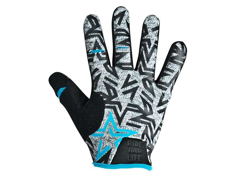 Перчатки KELLYS IMPULS long, голубые, XL, Gloves IMPULS long  sky blue XL