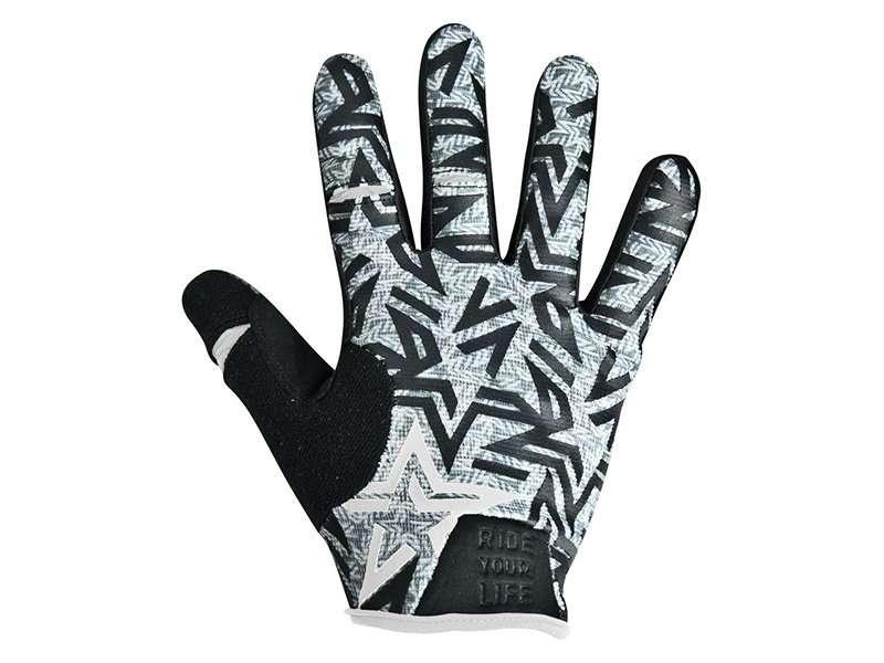 Перчатки KELLYS IMPULS long, серые, S, Gloves IMPULS long  light grey S