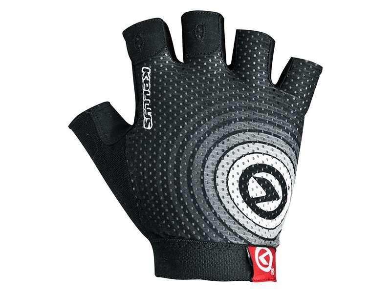 Перчатки KELLYS INSTINCT short, без пальцев, чёрно-белые, S, Gloves INSTINCT short , black/white S