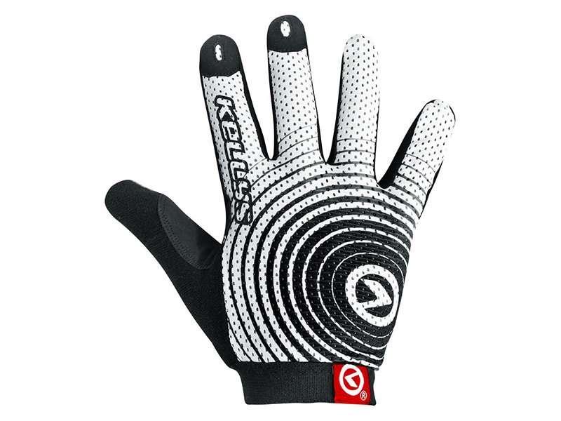 Перчатки KELLYS INSTINCT long, бело-чёрные, XL, Gloves INSTINCT long , white/black XL