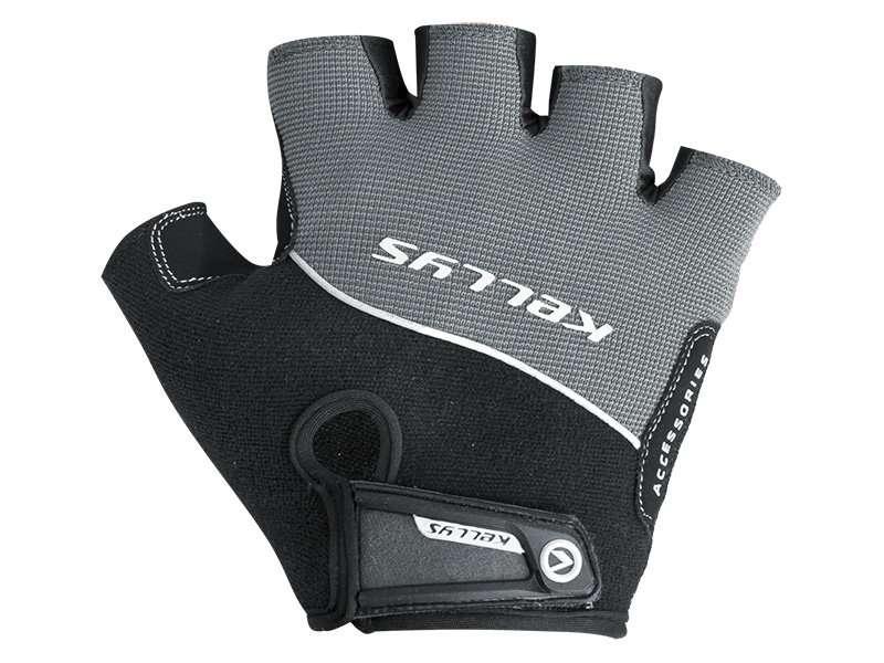 Перчатки KELLYS RACE, без пальцев, серые, L, Gloves RACE, Grey, L