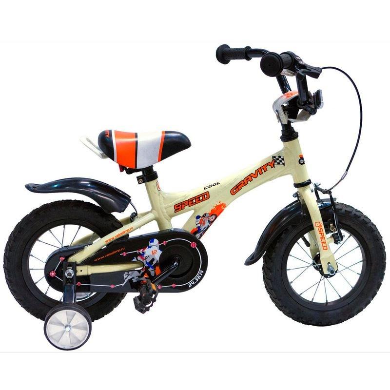 Детский велосипед Gravity Speed 12 2015 (Возраст 2 - 4 года рост до 105 см белый).