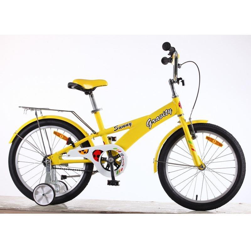 Детский велосипед Gravity Sunny 20 2015 (Возраст 6 - 9 лет рост до 135 см синий).