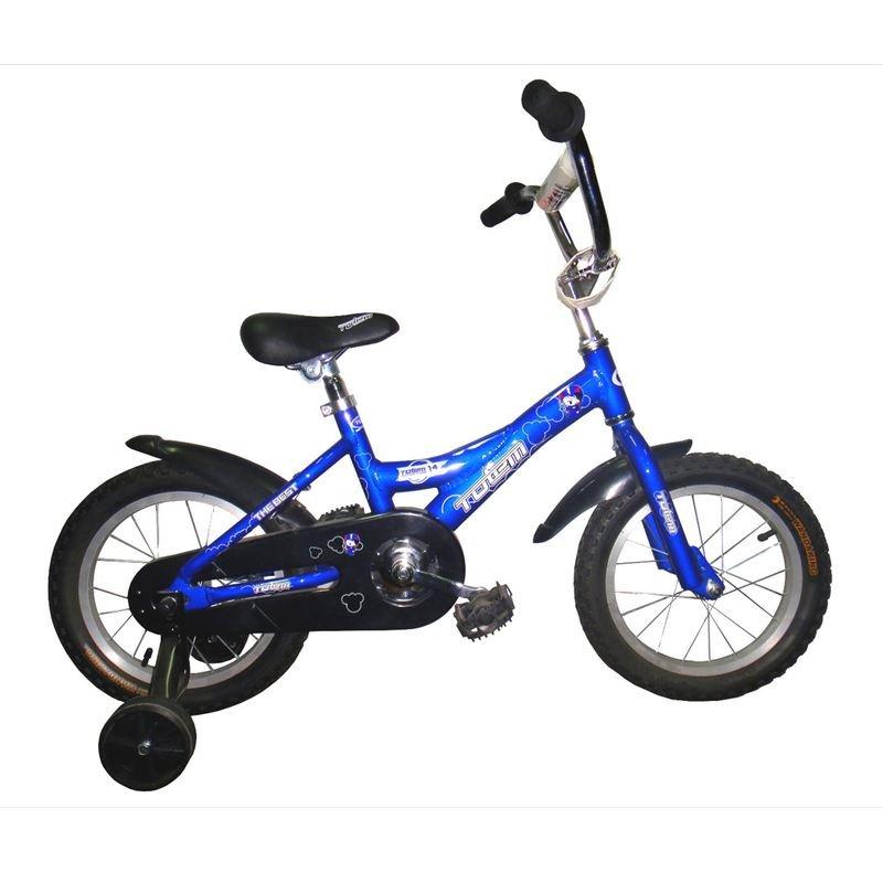 Детский велосипед TOTEM 10B802 (Возраст: 2 - 4 года (Рост: до 105 см), Цвет: синий)