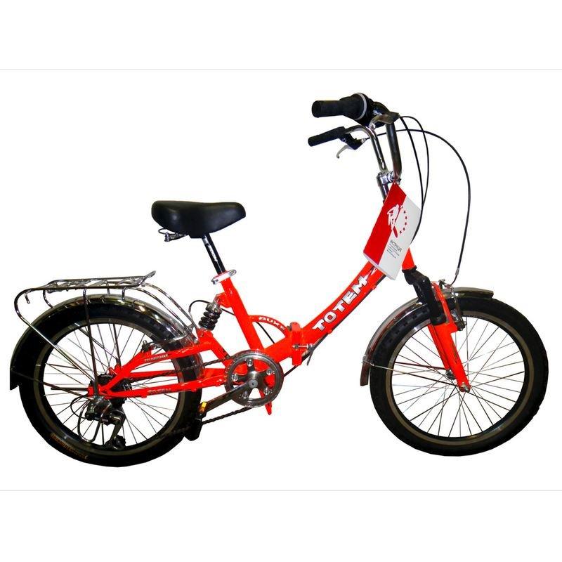 Детский велосипед TOTEM SF-461 (Возраст: 6-9 лет (Рост: до 135 см), Цвет: красный)