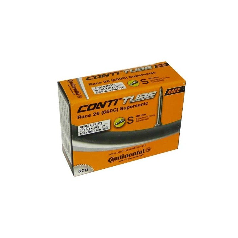 Велосипедная камера Continental Race 26 Supersonic, S60, 20-571 / 25-599, велониппель