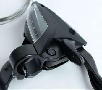 Шифтер велосипедный с тормозной ручкой Tourney Shimano EF500, правый, 7 скоростей, трос, ESTEF5002RV