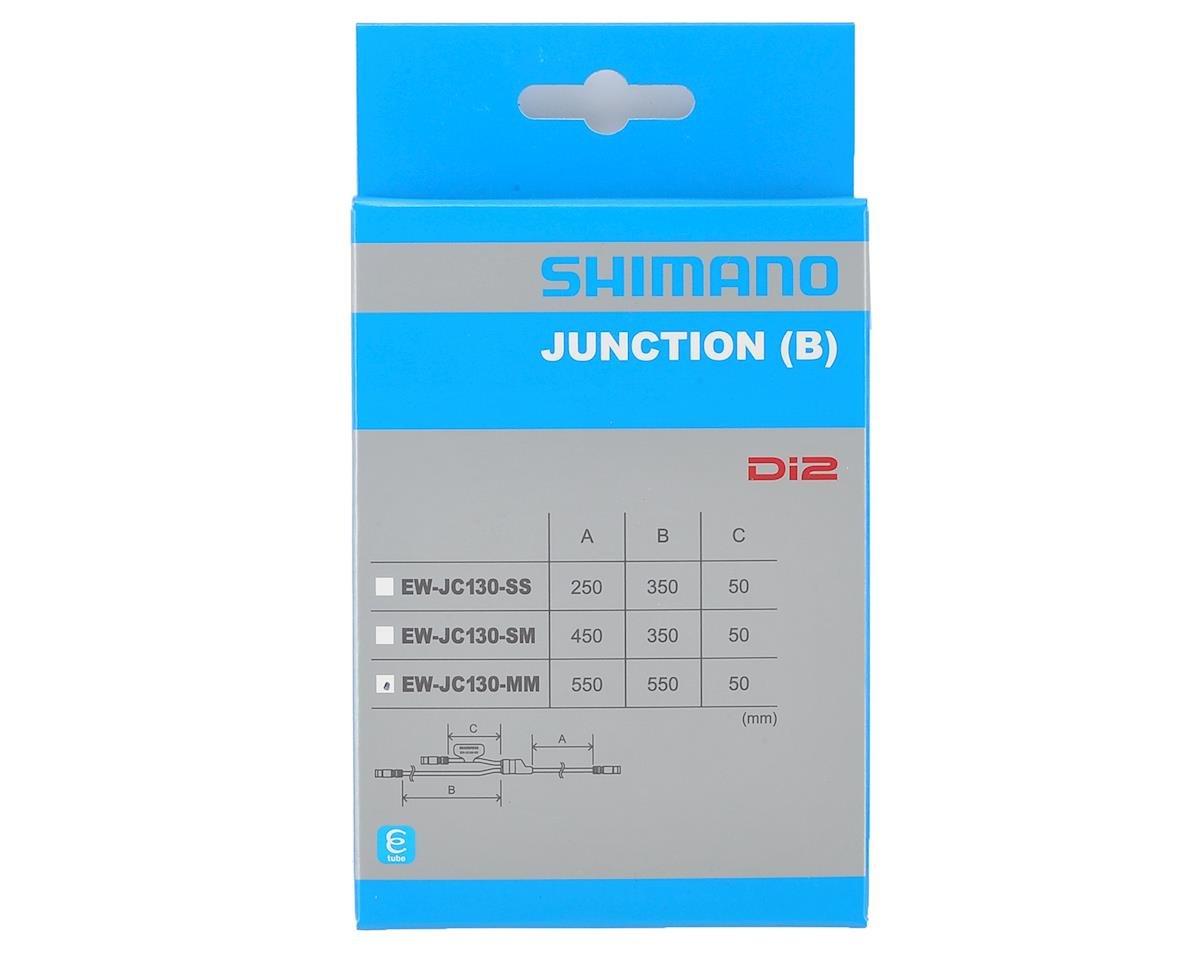 Y-разветвитель SHIMANO Di2, e-tube port (3 штуки), длина проводов: 550 мм, 50 мм, 550 мм, IEWJC130MM