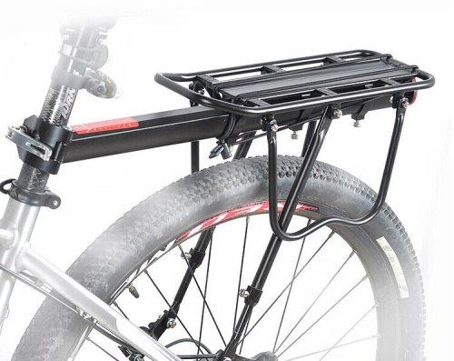 Велобагажник HORST, алюминий H022, подседельный, с дугами, на перья, эксцентрик, 00-170326