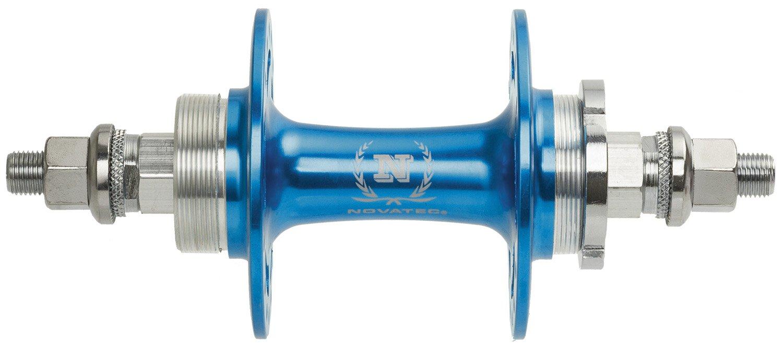 Втулка велосипедная NOVATEC Singlespeed/Fixie, алюминий, задняя, 32 отверстия, синяя, 5-325958