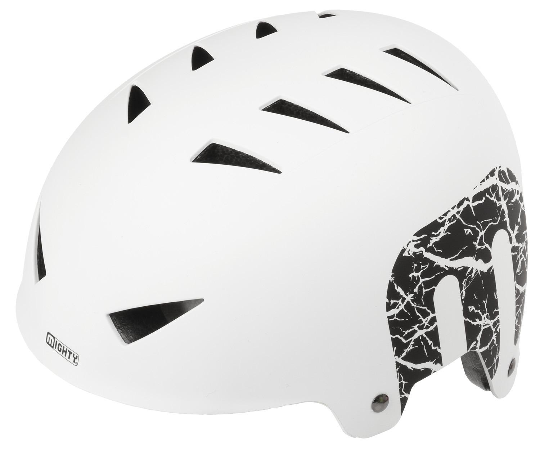 Шлем велосипедный MIGHTY X-STYLE, 14 отверстий, ABS-суперпрочный, 60-63см, матово-белый, 5-731223