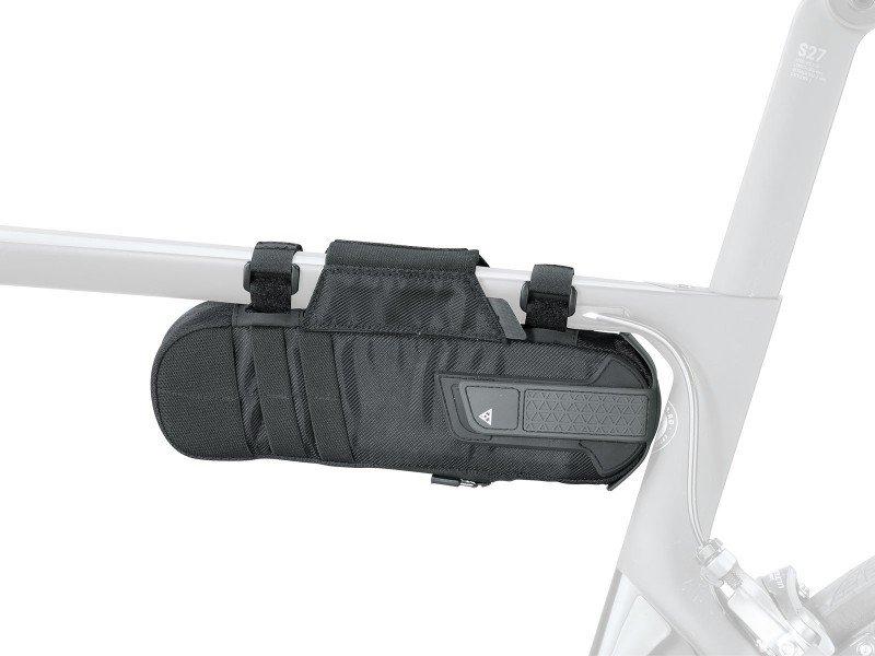 Велосумка TOPEAK Tri-BackUp Tire Bag, для велоаксессуаров, черная, TBU-TIB