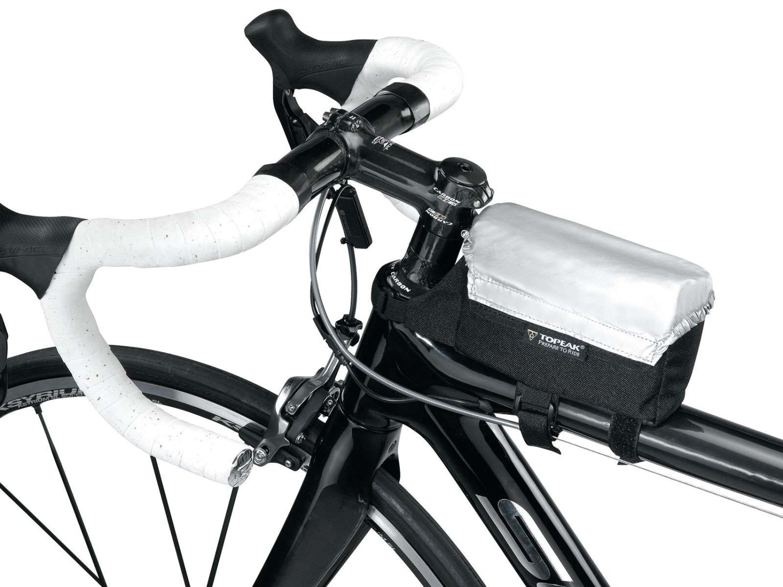 Велосумка TOPEAK TriBag All Weather w/rain cover, на верхнюю трубу рамы, с чехлом от дождя, TC9850B