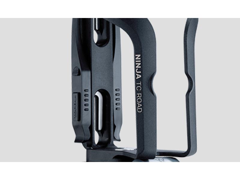Флягодержатель с инструментом Topeak Ninja TC-Road intergrated cage & tire lever, tool box, TNJ-TCR