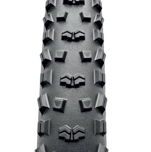 Велопокрышка Continental Mountain King II 2.4, 29 x 2.4(60-622), черная, борт-кевлар, 100398