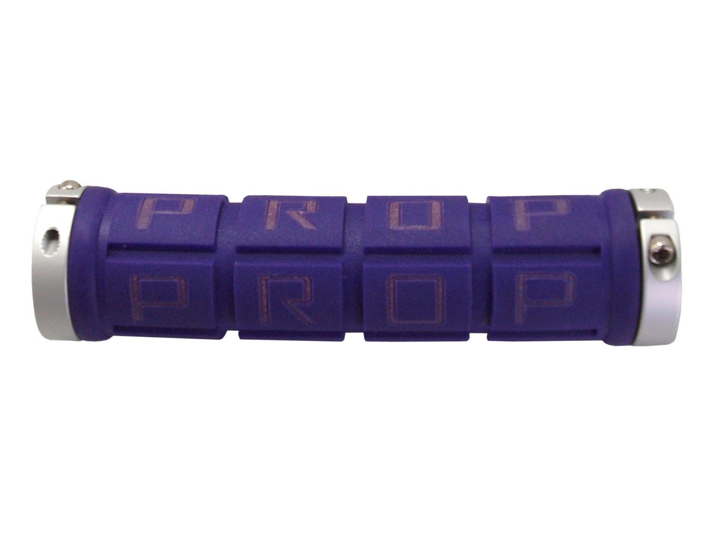 Грипсы PROPALM HY-2004EP, для Fixed Gear, 128мм, с 2 грипстопами, фиолетовые, с упаковкой