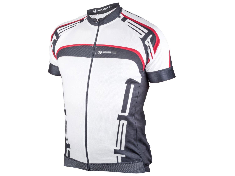 Велофутболка AUTHOR SPORT 12B бело-черно-красная, размер L, 8-7059627