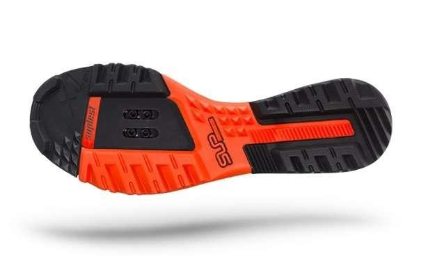 Велотуфли Suplest Offroad X.1 Trail Performance, размер 45, черно-оранжевый, 03.022.45