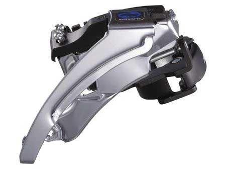 Переключатель передний SHIMANO ALTUS FD-M310-M3, 7/8 ск, двойная тяга, 42/48Т, угол 63-66, AFDM310M3