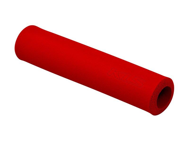 Грипсы KELLYS KLS SILICA, 130 мм, силикон, красный