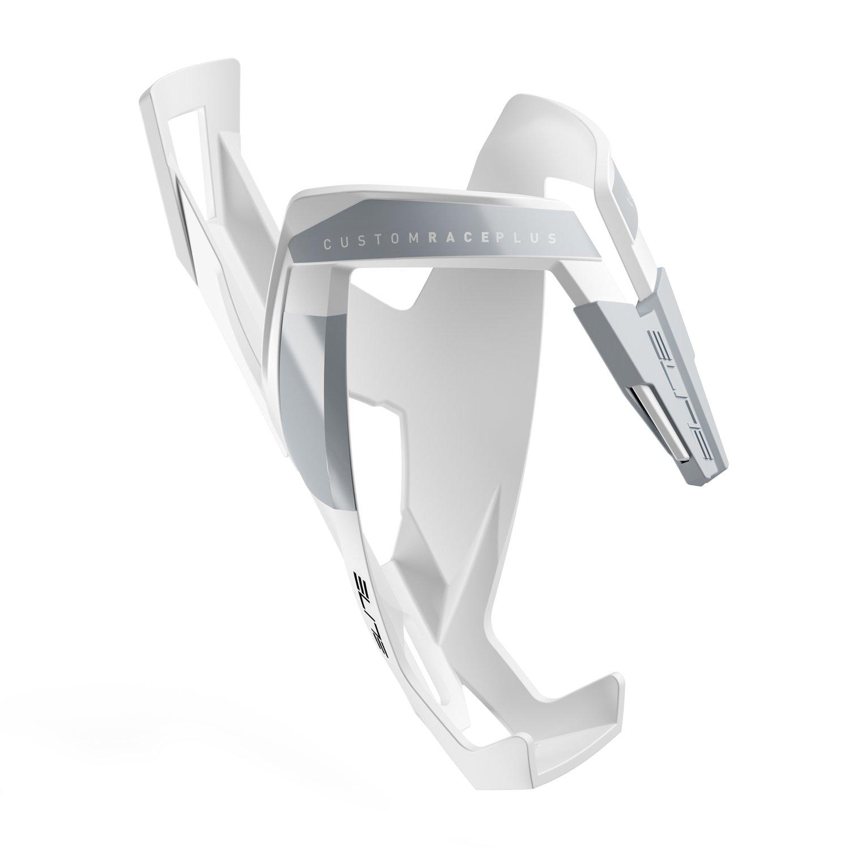 Флягодержатель Elite Custom Race Plus, soft touch, белый, EL0140613