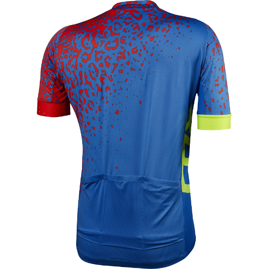 Веломайка Fox Ascent Comp SS Jersey, голубая (Размер S (15256-002-S))