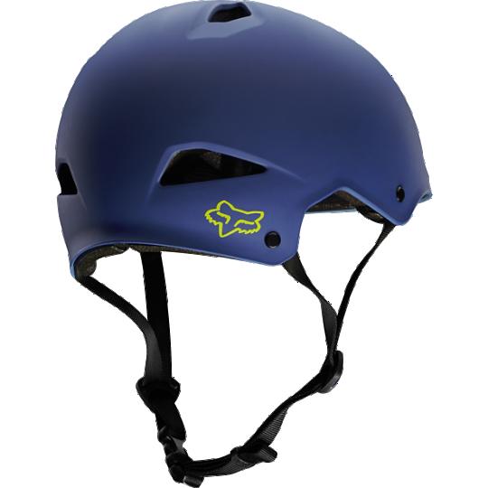 Велошлем Fox Flight Hardshell Helmet, матовый синий (Размер: L (57-58 cм))