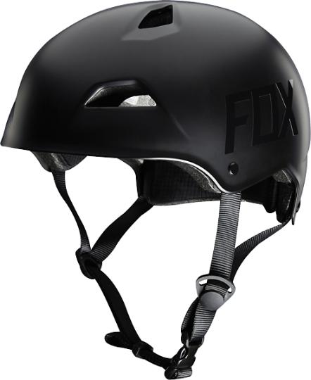 Велошлем Fox Flight Hardshell Helmet, матовый черный  (Размер: M (55-58 см))