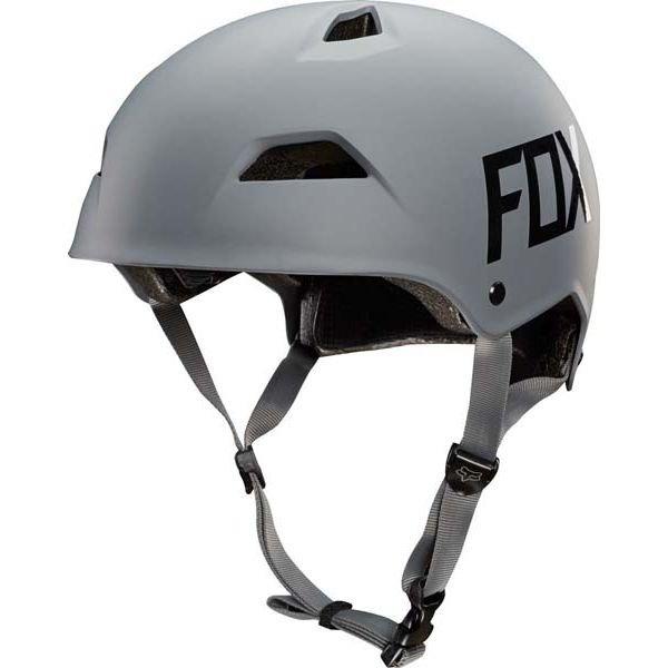 Велошлем Fox Flight Hardshell Helmet, серый  (Размер: M (55-58 см))