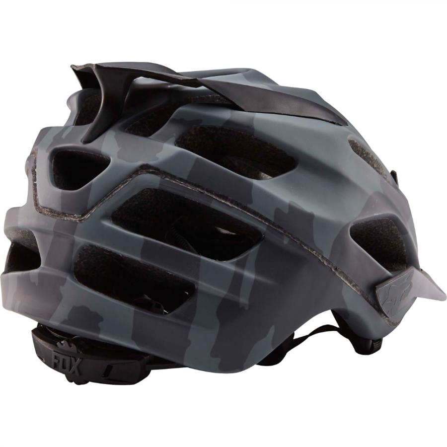 Велошлем Fox Flux Camo Helmet, черный (Размер: S/M (55-56 / 57-58 см) )