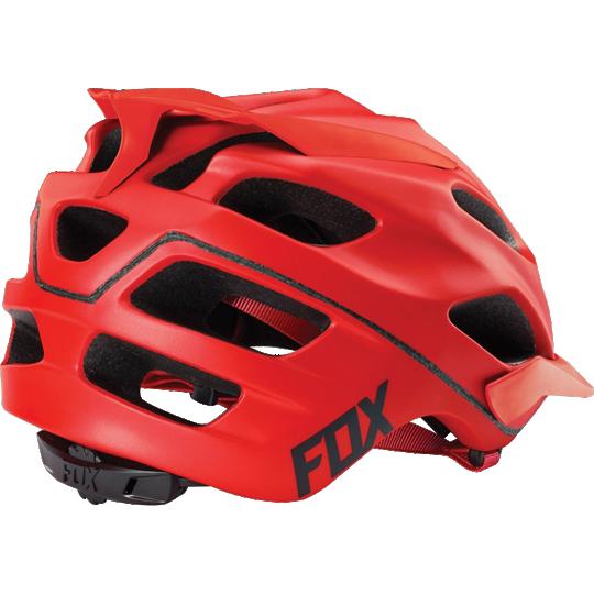 Велошлем Fox Flux Solids Helmet, красный (Размер: L/XL (59-62 см) )