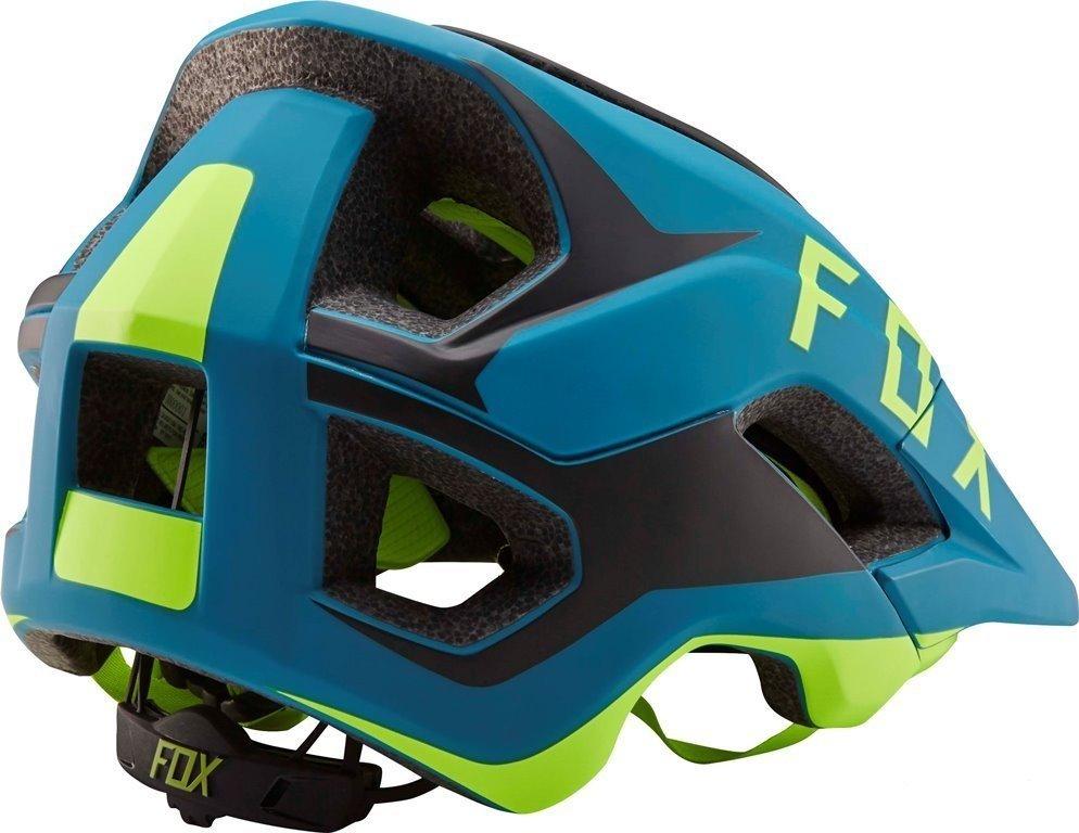 Велошлем Fox Metah Flow Helmet Teal, сине-черный (Размер: XS/S (53-56 см) )