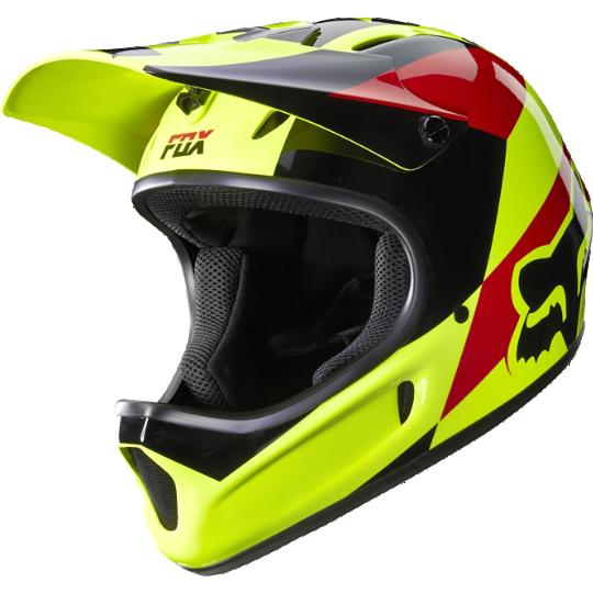 Велошлем Fox Rampage Mako Helmet, желтый  (Размер: XL (61-62 см) )