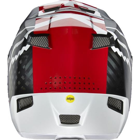 Велошлем Fox Rampage Pro Carbon Helmet, белый  (Размер: XL (61-62 см) )