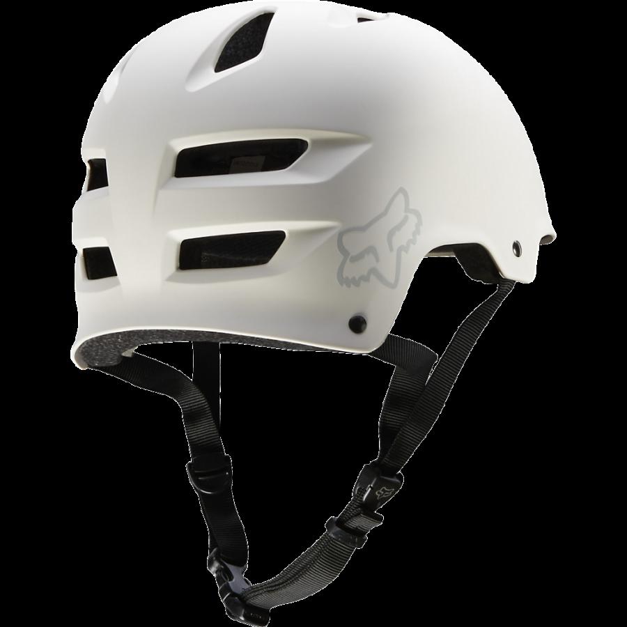 Велошлем Fox Transition Hard Shell Helmet, матовый белый  (Размер: L ( 59-61 см) )
