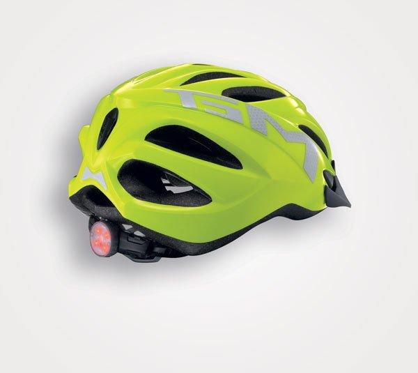 Велошлем MET 20 Miles High Visibility, желтый 2018 (Размер: L (59-62 см))