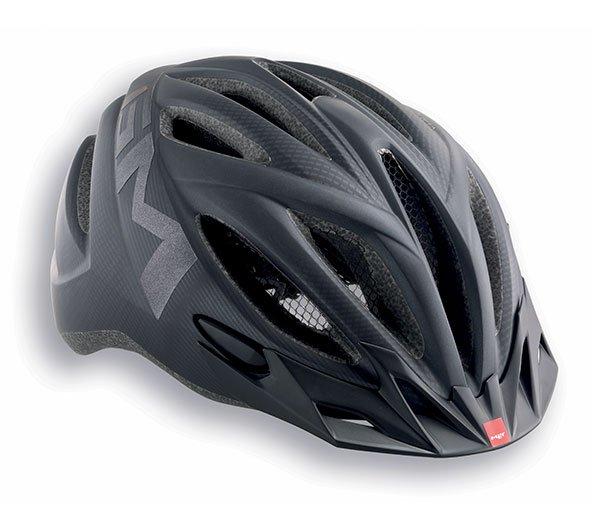 Велошлем MET 20 Miles, матовый черный  (Размер: M (52-58 см))