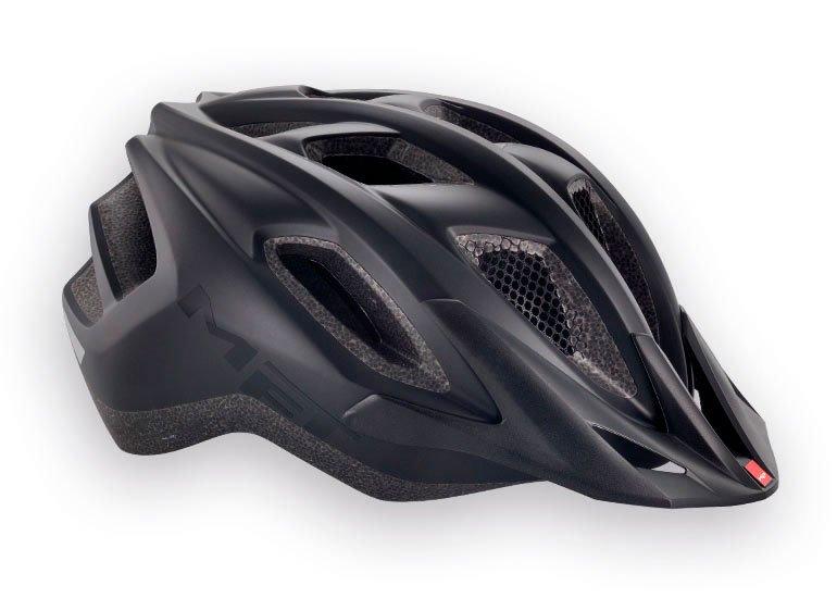 Велошлем MET Funandgo, матовый черный  (Размер: S (52-57 см) )