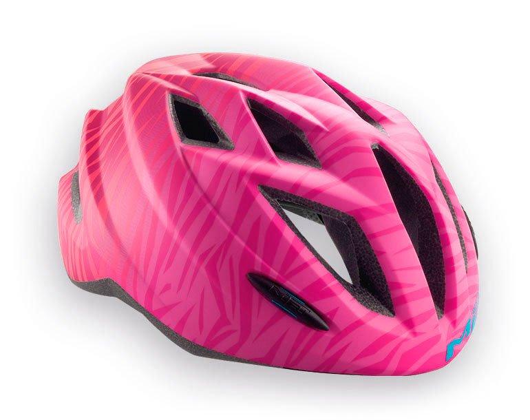 Велошлем подростковый MET Gamer Texture, розовый  (Размер: 52-57 см)