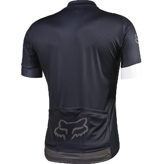 Велофутболка Fox Ascent SS Jersey, черная (Размер M (15859-028-M))