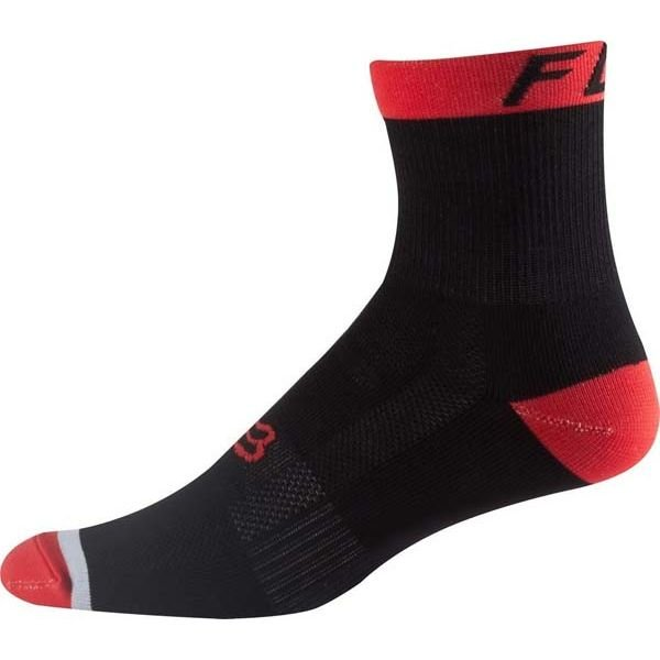 Купить со скидкой Носки Fox Logo Trail 6-inch Sock Flame, красный  (Размер: S/M (33 - 41 см))